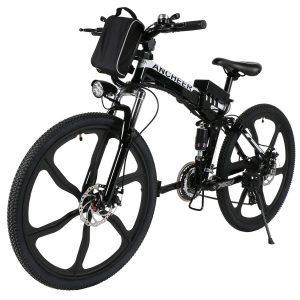 ancheer super lightweight folding mountain bike